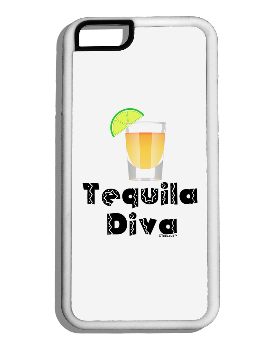 Tequila Diva - Cinco de Mayo Design White Dauphin iPhone 6 Cover by TooLoud