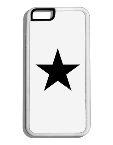 Black Star White Dauphin iPhone 6 Cover Tooloud
