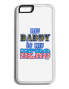 My Daddy is My Hero - Armed Forces - Blue White Dauphin iPhone 6 Cover by TooLoud