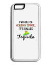 Holiday Spirit - Tequila White Dauphin iPhone 6 Cover