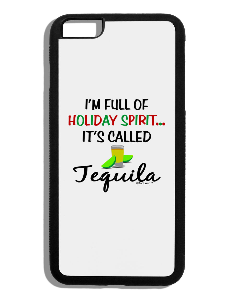 Holiday Spirit - Tequila Black Dauphin iPhone 6 Plus Cover