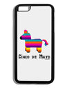 Colorful Pinata Design - Cinco de Mayo Black Dauphin iPhone 6 Plus Cover by TooLoud