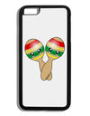 Cute Maracas Design Black Dauphin iPhone 6 Plus Cover by TooLoud