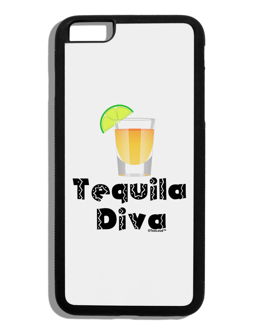 Tequila Diva - Cinco de Mayo Design Black Dauphin iPhone 6 Plus Cover by TooLoud