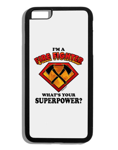 Fire Fighter - Superpower Black Dauphin iPhone 6 Plus Cover