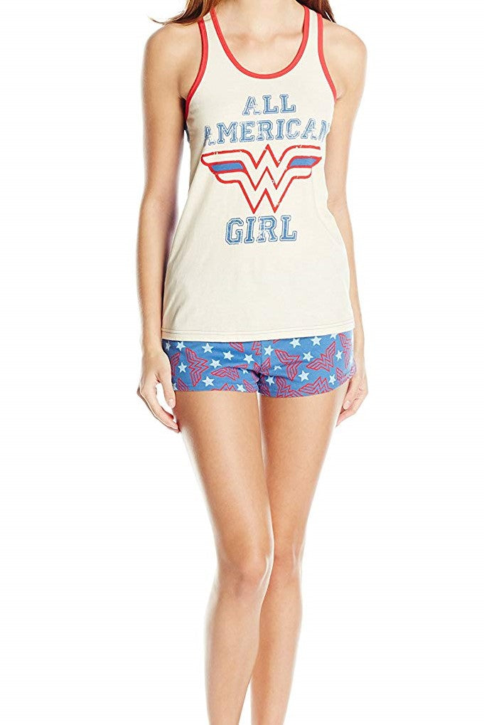 DC Comics Wonder Woman 2-Piece Women's Pajama Set