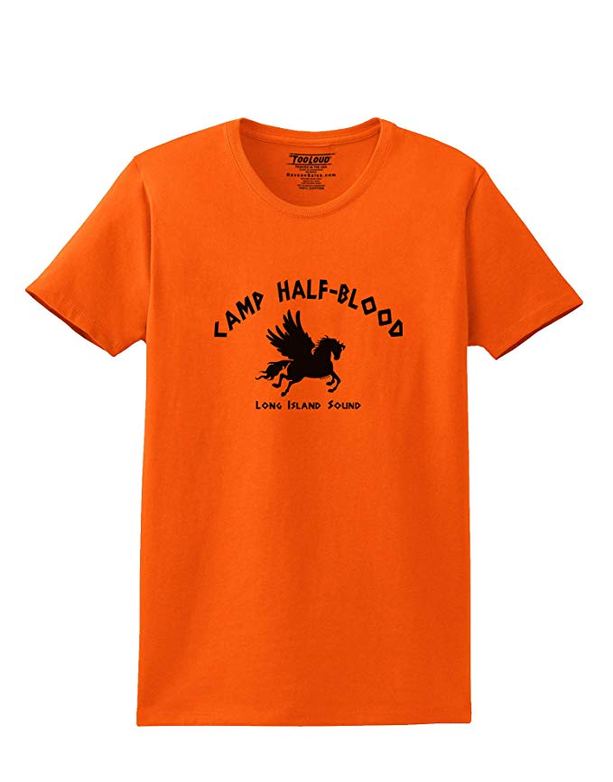Camp Half Blood Adult Womens T-Shirt