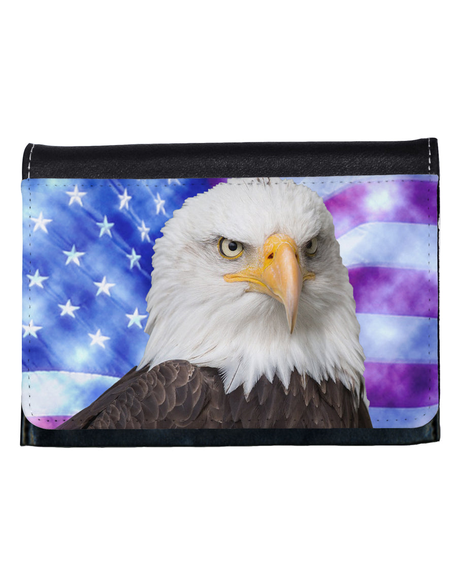 All American Eagle All Over Ladies Wallet All Over Print by TooLoud