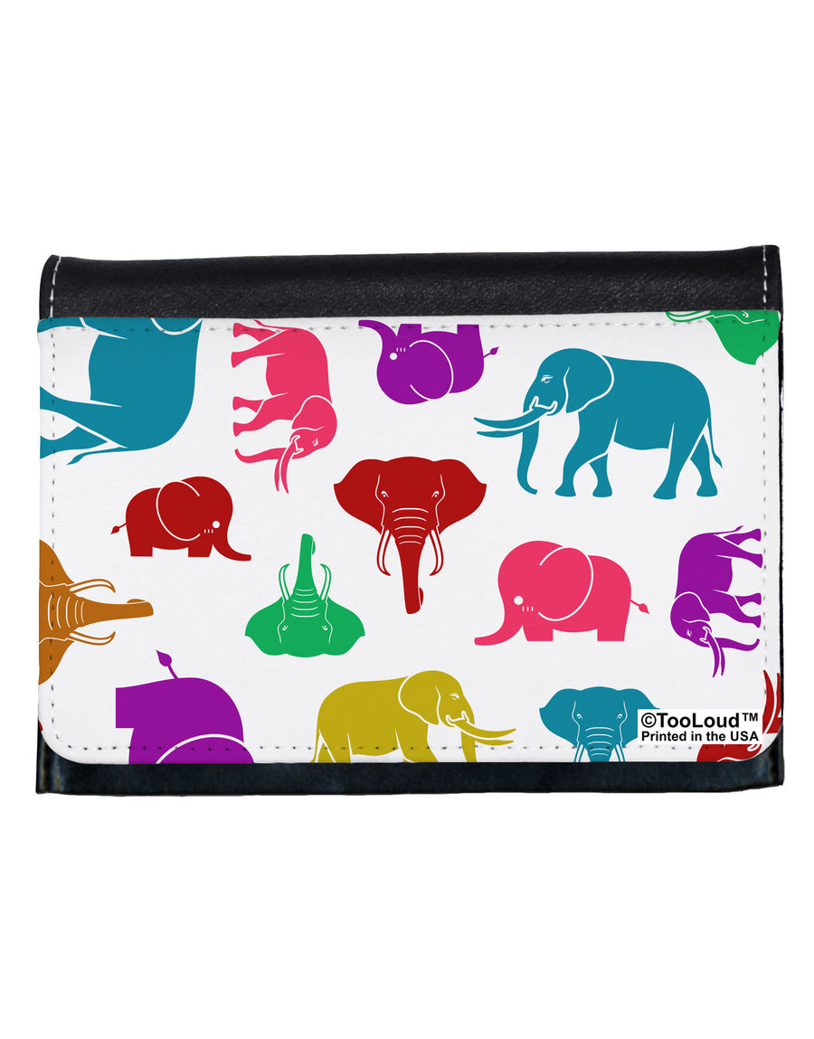 Colorful Elephants AOP Ladies Wallet All Over Print