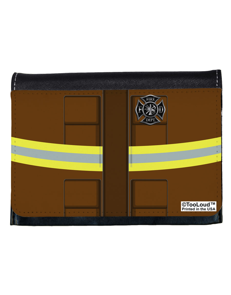 Firefighter Brown AOP Ladies Wallet All Over Print