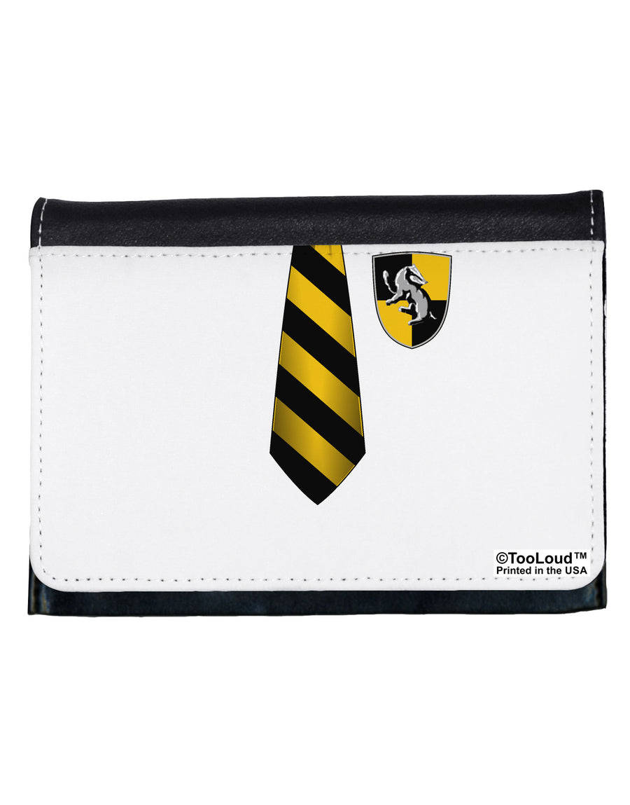 Wizard Uniform Yellow and Black AOP Ladies Wallet All Over Print