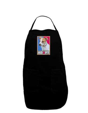 Adopt Cute Puppy Poster Plus Size Apron