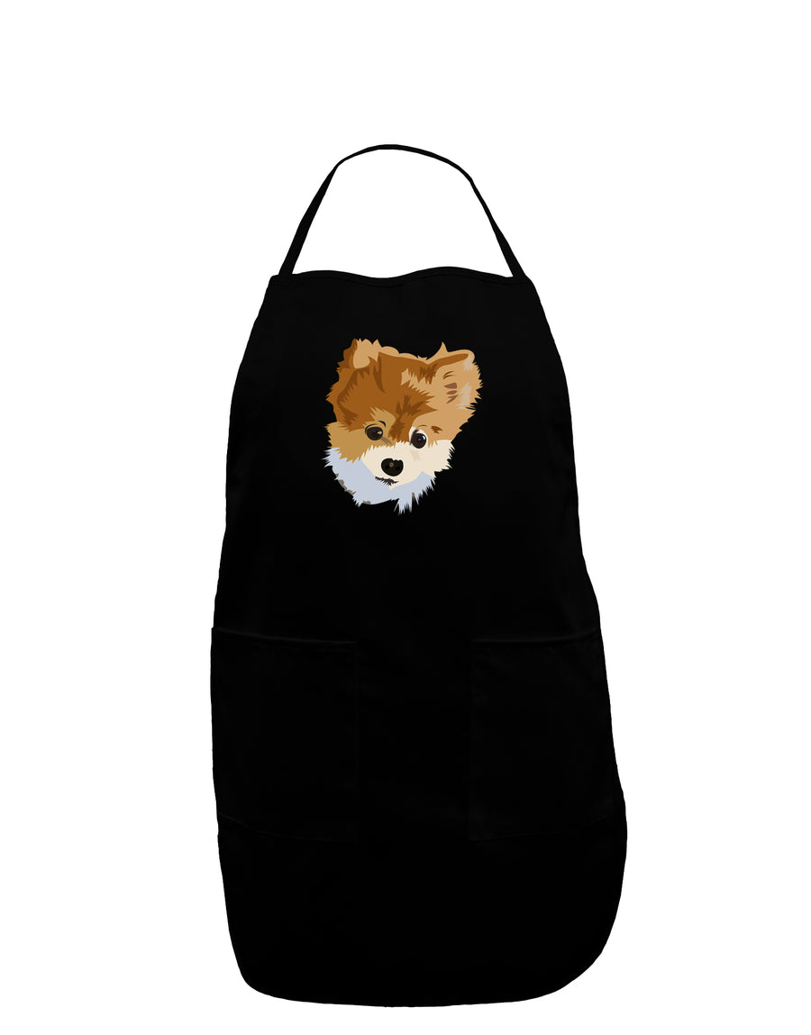 Custom Pet Art Plus Size Dark Apron by TooLoud