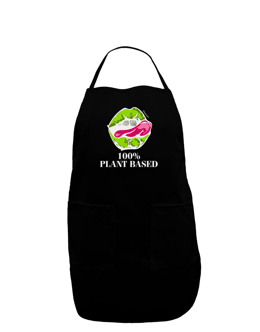 Plant Based Plus Size Dark Apron Tooloud