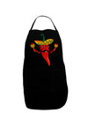 Red Hot Mexican Chili Pepper Dark Adult Apron