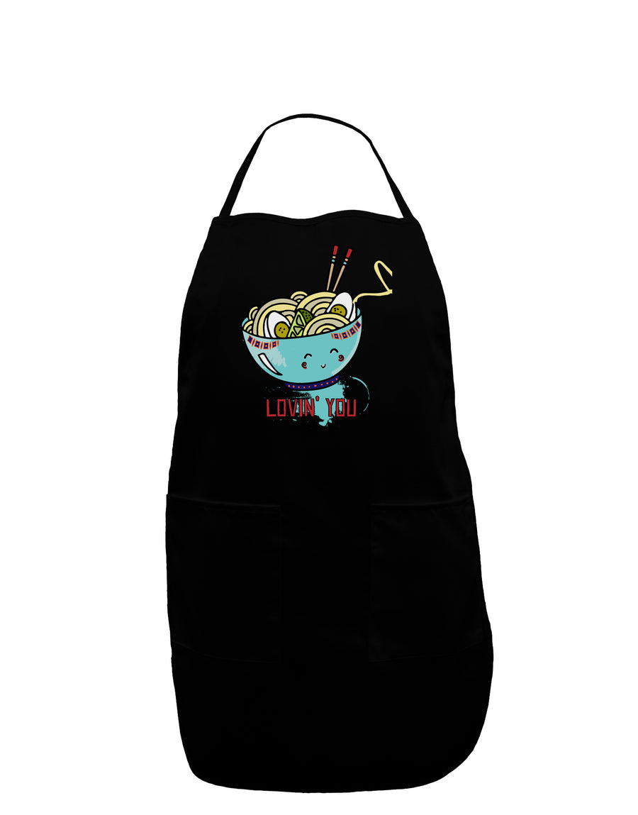 Matching Lovin You Blue Pho Bowl Plus Size Dark Apron Tooloud