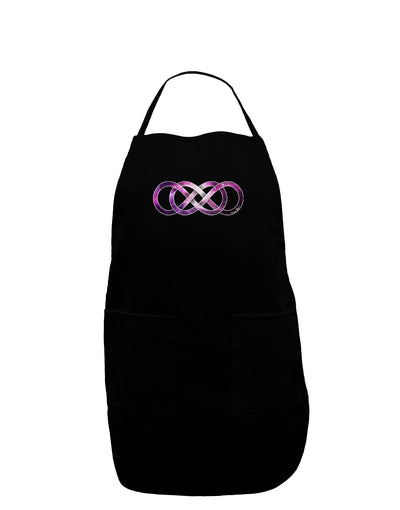 Double Infinity Galaxy Dark Adult Apron