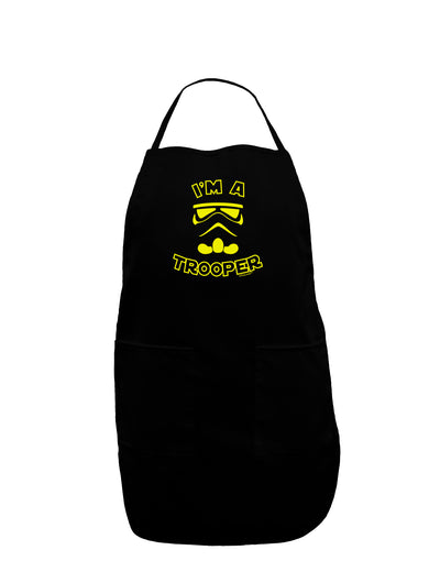 I'm A Trooper Dark Adult Apron