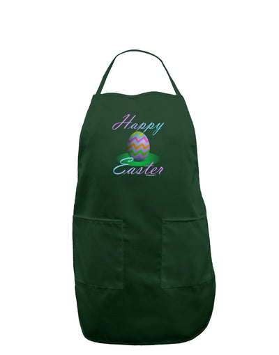 One Happy Easter Egg Dark Adult Apron