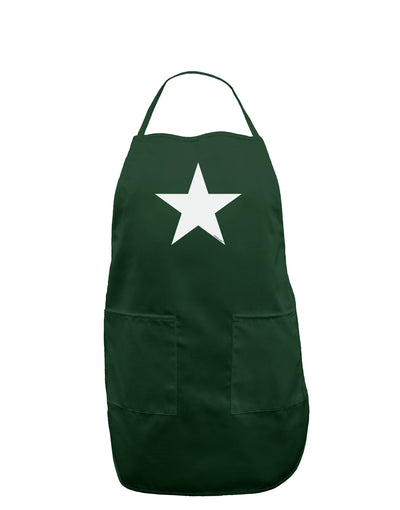 White Star Dark Adult Apron - Hunter - One-Size Tooloud