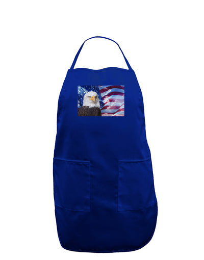 All American Eagle Dark Adult Apron
