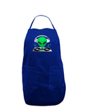 Alien DJ Dark Adult Apron