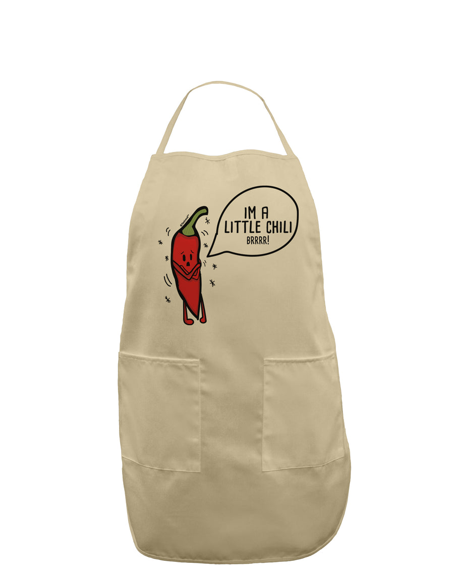 I'm a Little Chilli Adult Apron White One-Size Tooloud