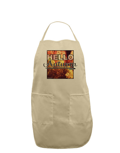 Hello Autumn Adult Apron