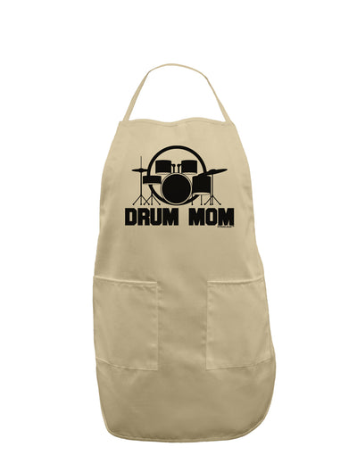 Drum Mom - Mother's Day Design Adult Apron