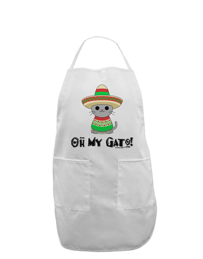 Oh My Gato - Cinco De Mayo Adult Apron