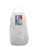 Adopt Cute Puppy Poster Adult Apron