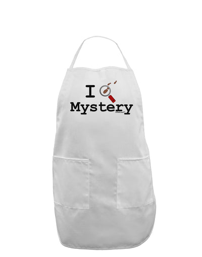 I Love Mystery Adult Apron