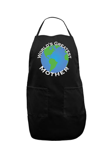 World's Greatest Mother Dark Adult Apron