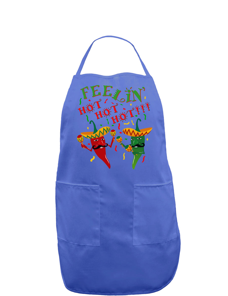 Feelin Hot Hot Hot Chili Peppers Dark Adult Apron