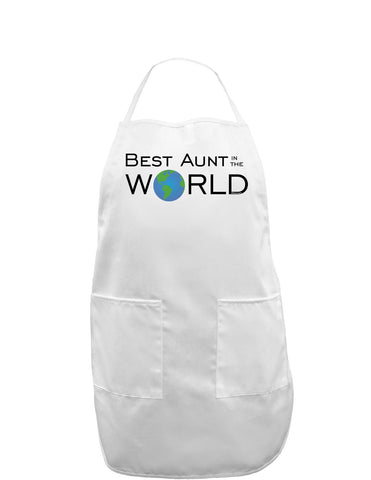 Best Aunt in the World Adult Apron