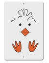 TooLoud Cute Easter Chick Face Aluminum 8 x 12 Inch Sign