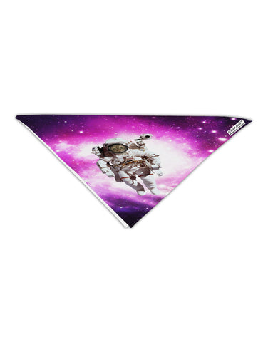 "Astronaut Cat AOP Adult 19"" Square Bandana All Over Print"