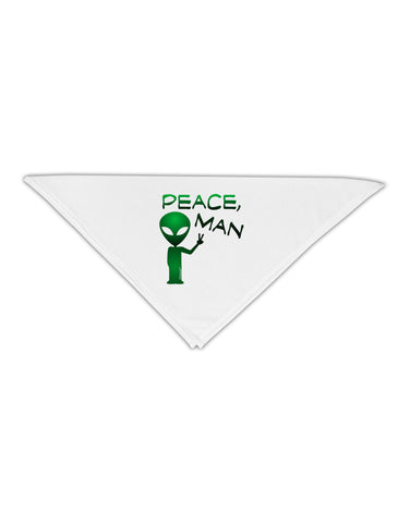 "Peace Man Alien Adult 19"" Square Bandana"