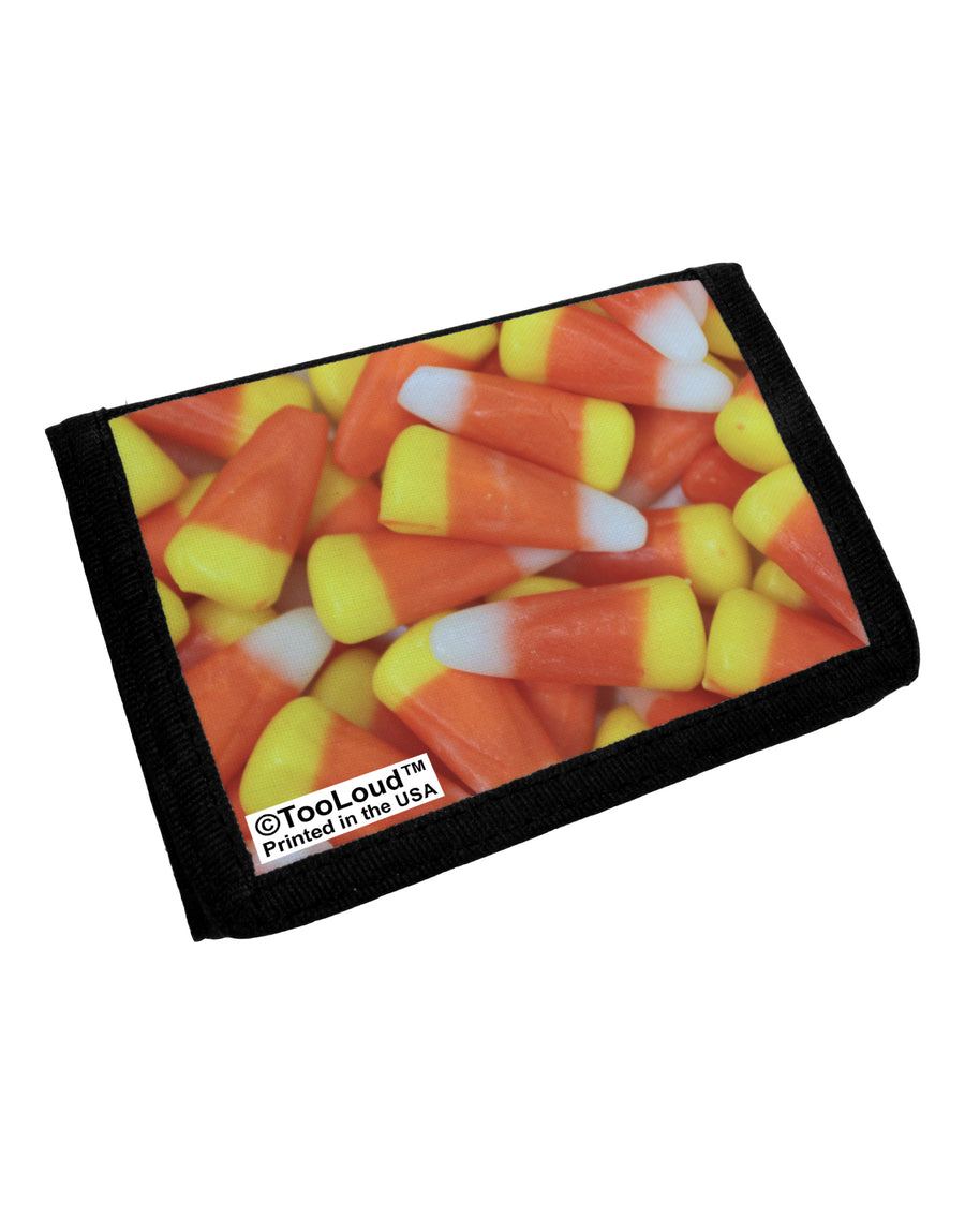 Candy Corn Trifold Wallet All Over Print by TooLoud