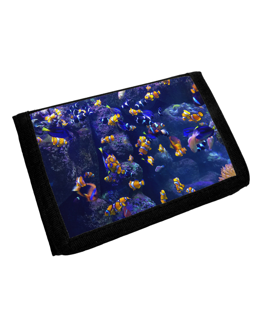 Underwater Ocean View Clownfish Trifold Wallet All Over Print by TooLoud