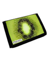 Kiwi Fruit Trifold Wallet All Over Print by TooLoud