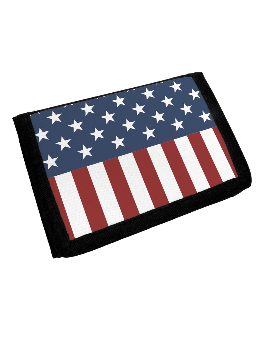 Stars and Stripes American Flag Trifold Wallet All Over Print by TooLoud