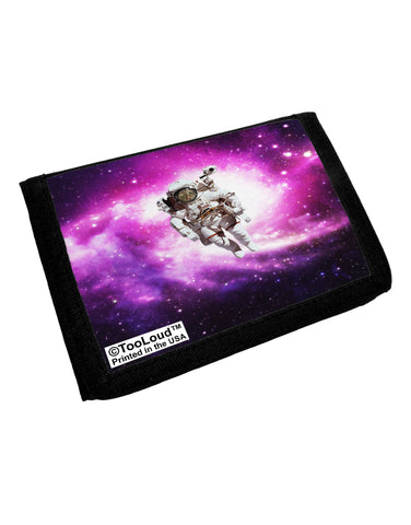 Astronaut Cat AOP Trifold Wallet All Over Print