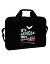 "It's LeviOsa not LeviosAHH 15"" Dark Laptop / Tablet Case Bag"