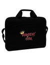 "Birthday Girl - Princess Crown and Wand 15"" Dark Laptop / Tablet Case Bag by TooLoud"
