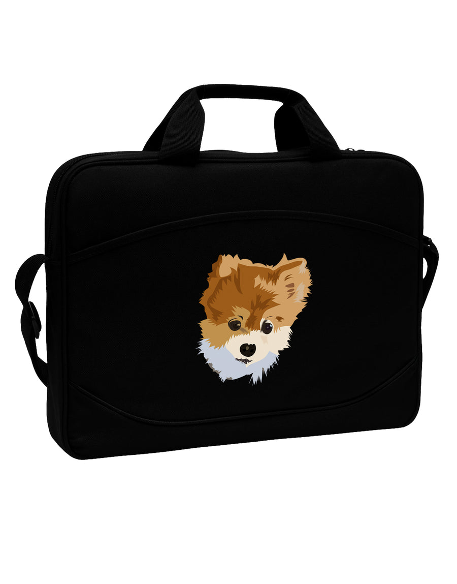 "Custom Pet Art 15"" Dark Laptop / Tablet Case Bag by TooLoud"