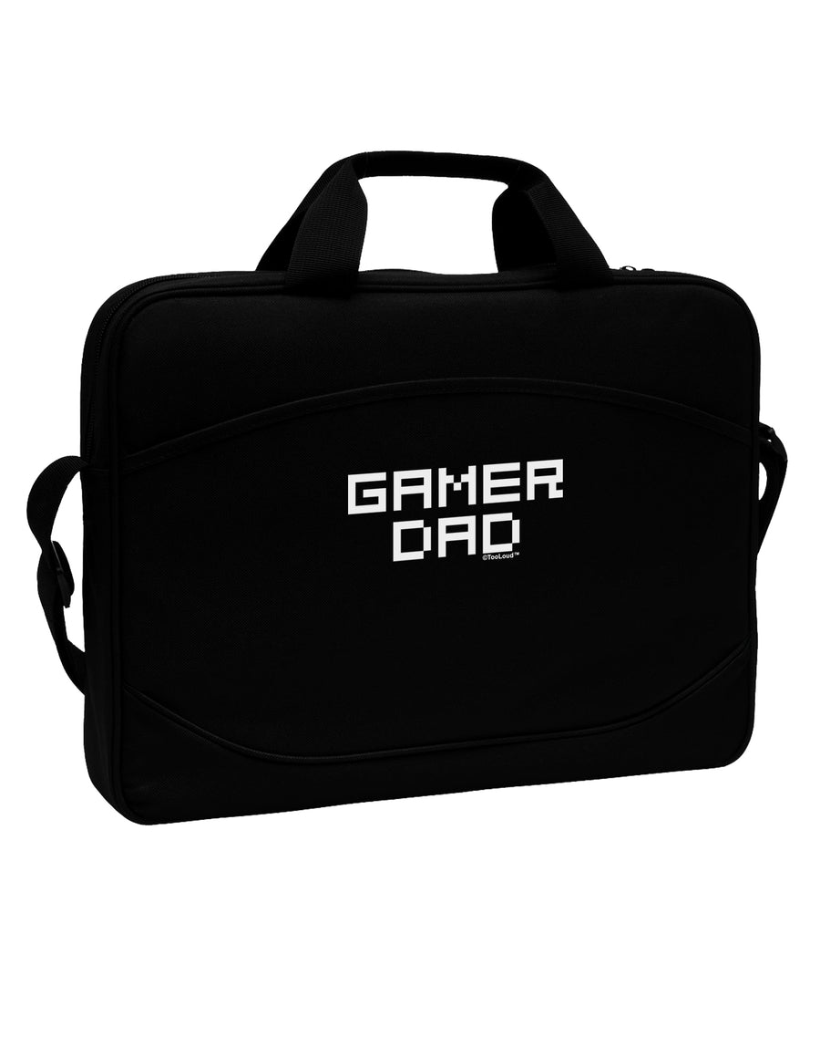 "Gamer Dad 15"" Dark Laptop / Tablet Case Bag by TooLoud"