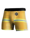 Firefighter Yellow AOP Boxer Brief Single Side All Over Print