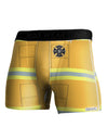 Firefighter Yellow AOP Boxer Brief Dual Sided All Over Print
