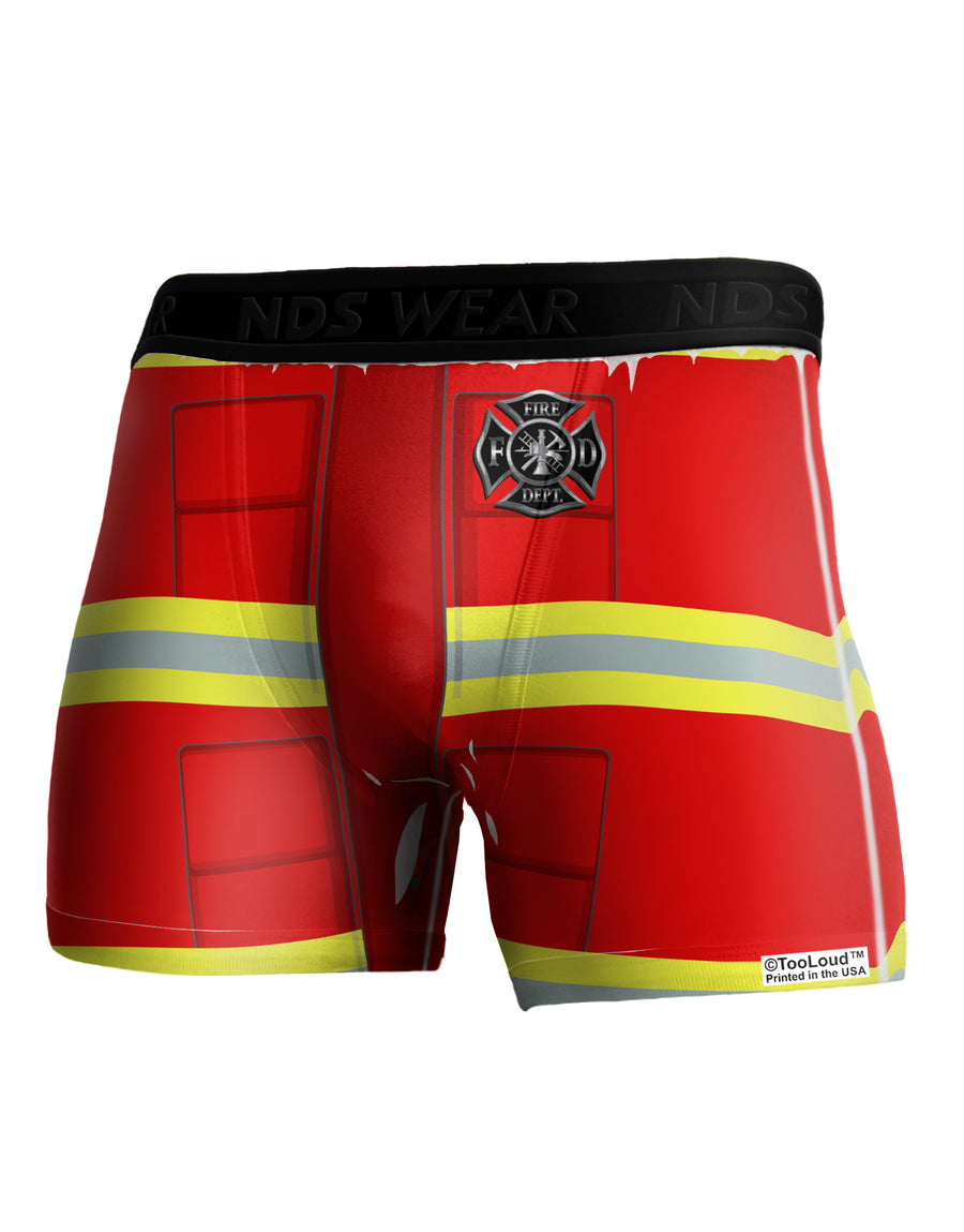 Firefighter Red AOP Boxer Brief Dual Sided All Over Print